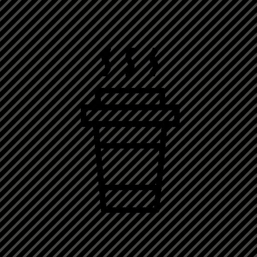 away003, coffee, coffee cup, coffee take away, paper cup, take, take away cup icon