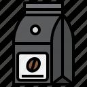 coffee, bag, machine, tools, espresso