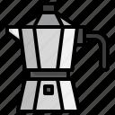 moka, pot, coffee, machine, tools, espresso