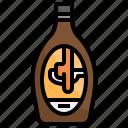 syrup, caramel, coffee, machine, tools, espresso