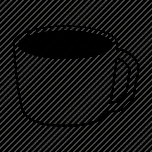 coffee, cup, drink, hot chocolate, mug, restaurant, tea icon