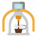 coffee, cup, maker, mechine, roxpresso icon