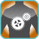 body, cogs, gears, in, industry, the, tool icon