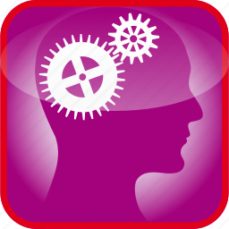 brain, cogs, detail, gears, in, the, tool icon