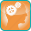 brain, cogs, detail, gears, in, the, tools icon