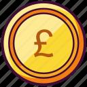 british, coin, currency, money, pound