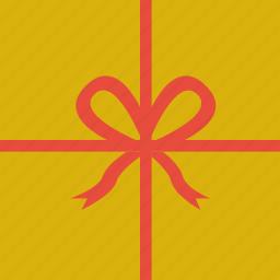 birthday, bow, celebrate, gift, present, ribbon icon