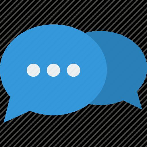 bubbles, chat, conversation, message, more, talk, wait icon