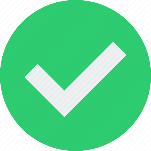 checkmark, complete, done icon