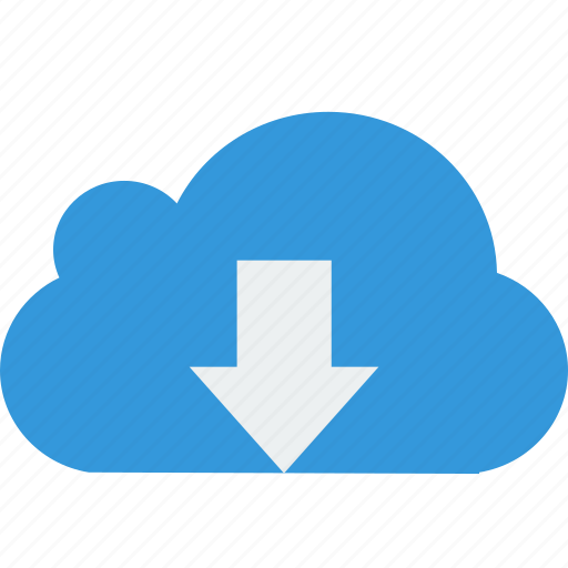 Download, cloud, arrow icon