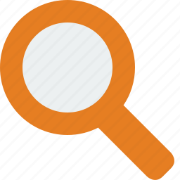 glass, magnifier, magnifying, search icon