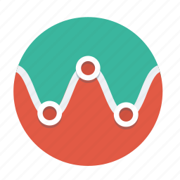 broker, business, chart, data, diagram, graph, infographic icon