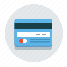 bank, business, card, credit, debit, money, payment icon