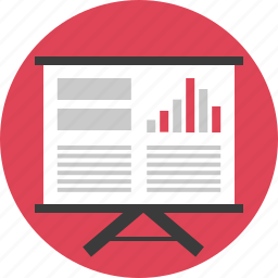 analytics, board, business, chart, financial, results, statistics icon