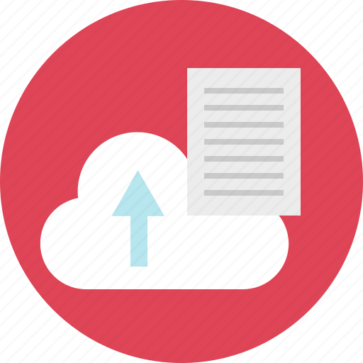 cloud, file, files, internet, page, up, upload icon
