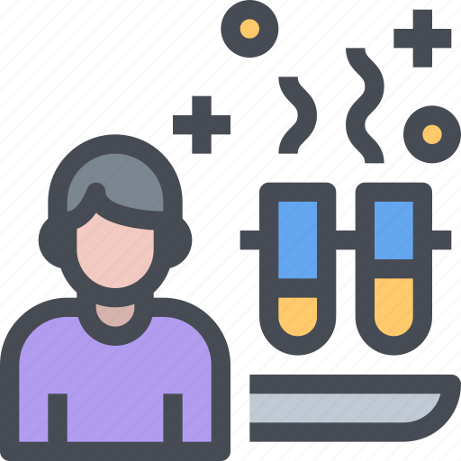 chemistry, education, experiment, laboratory, science icon