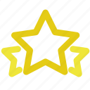 favorite, medal, rate, rating, star, stars, winner icon