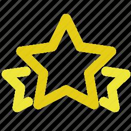 favorite, medal, rate, rating, star, stars, winner icon