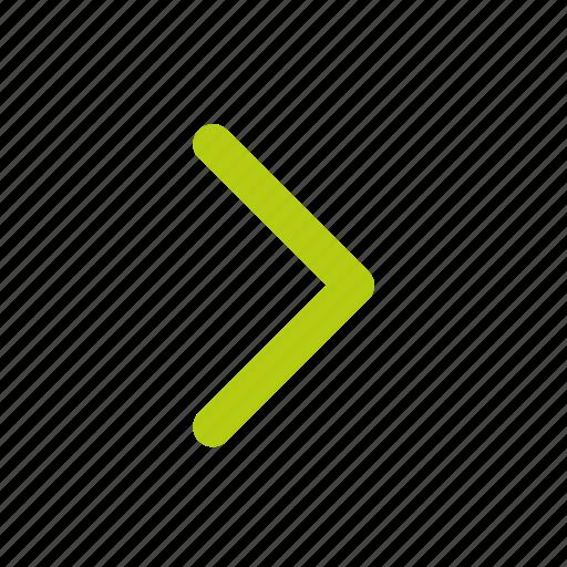 arrow, arrow next, move, navigation, right icon