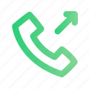 answer, call, outgoing, phone, talk, telephone icon
