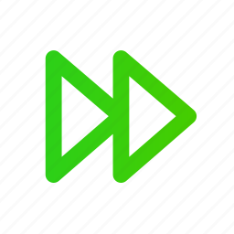arrow, forward, media, right, sound icon