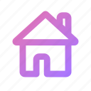 estate, home, house, office, property, real icon