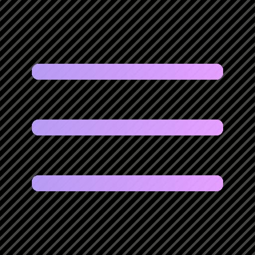control, lines, list, menu, options icon