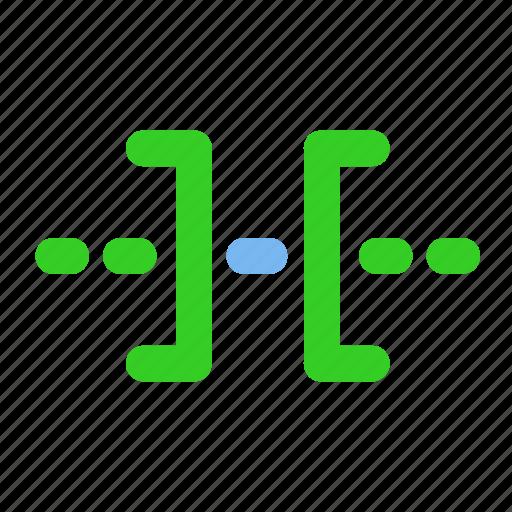 cut, media, out trim, sound, trim icon