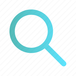 find, glass, magnifier, search, view, zoom icon