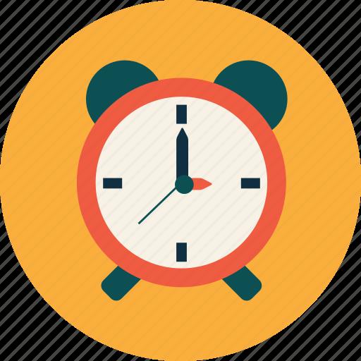alarm, clock, college, education, study, university icon