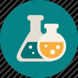 alchemic, chemical, college, education, university icon
