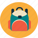 bag, college, school, schoolbag, study, university icon