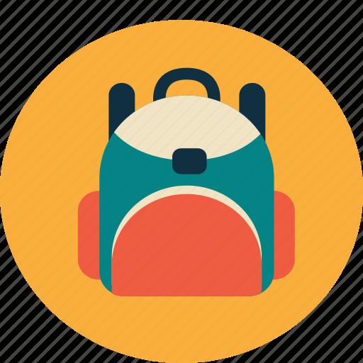 bag, college, school, schoolbag, study, university icon