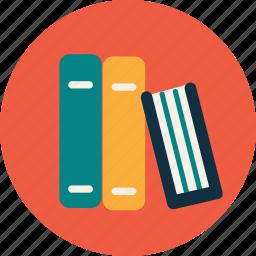 book, college, library, school, study, university icon