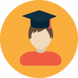 college, education, graduation, school, study, university icon
