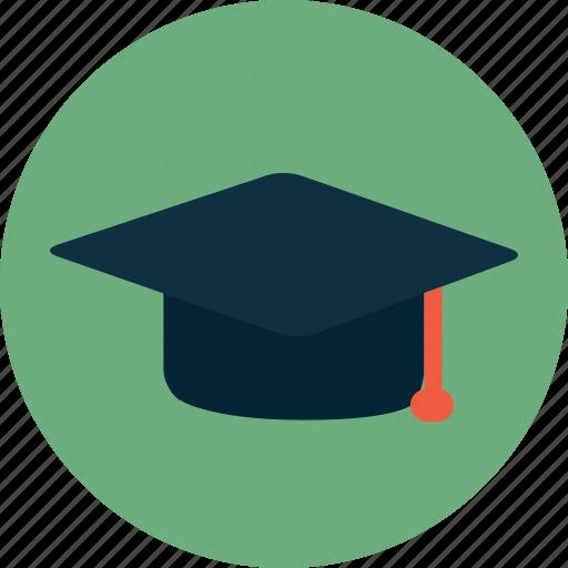 college, graduation, hat, school, study, university icon