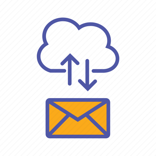 cloud clients, cloud computing, data exchange, mail backup, mail server, saas icon