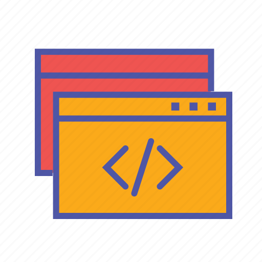 coding, javascript, script, webpage, website icon