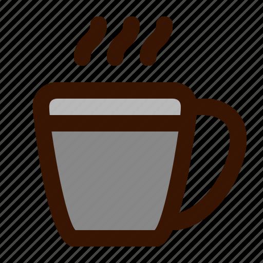 coffee, food icon