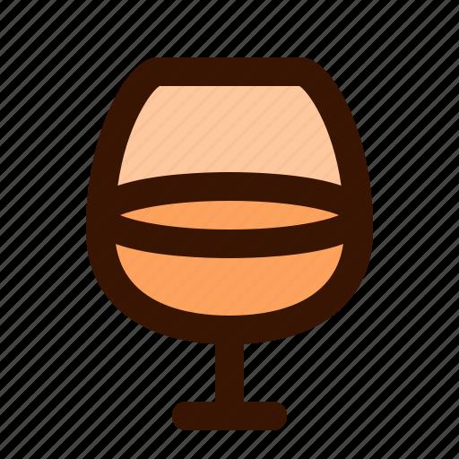cognac, food icon