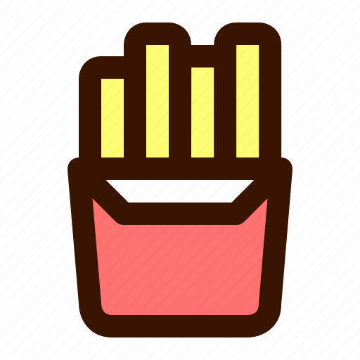 Food, french, fries icon - Download on Iconfinder