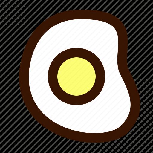 egg, food, fried icon