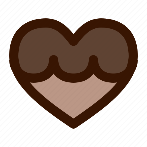 cookie, food, heart icon