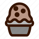 food, muffin icon