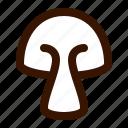 food, mushroom2 icon