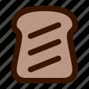 food, toast icon