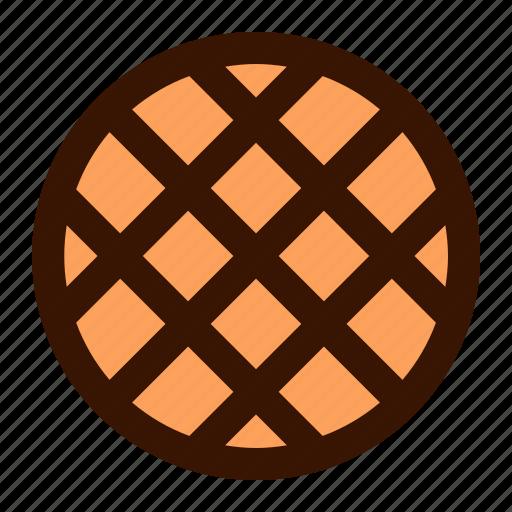 food, waffle icon