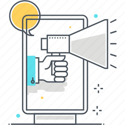 advertisement, advertising, billboard icon