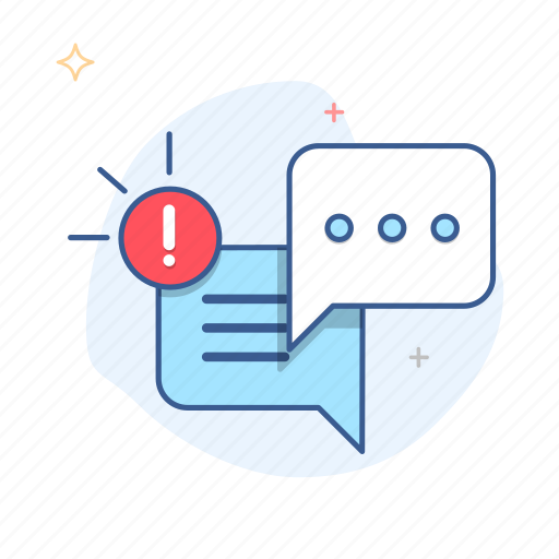 alert, chat, comment, dialog, message, notification, talk icon