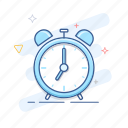 alarm, bell, clock, time, timer, watch icon